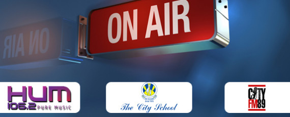 the city school goes live on radio