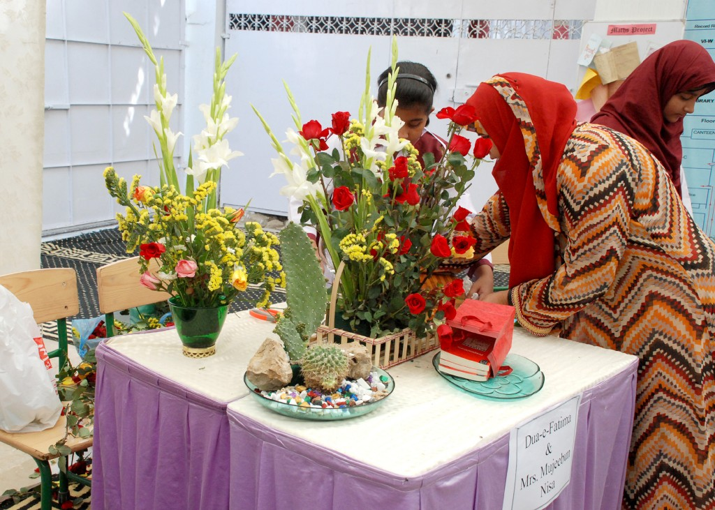 The City School Pakistan Floral Decoration Competition At