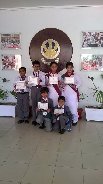 Math Quiz Competition 2016 - Reflections School