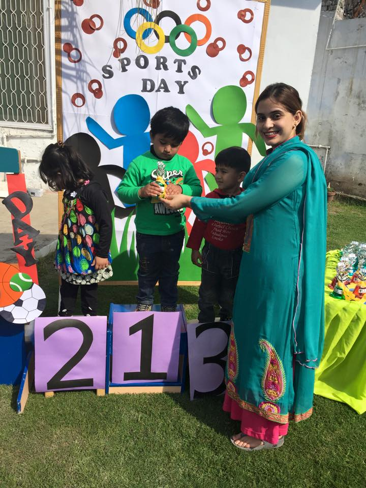 The sports day began with the recitation of the Holy Quran. The ceremony started by the lighting of a make-believe Olympic torch by two young students.  sc 1 st  The City School & The City School Pakistan Sports Day At The City School Nursery ...