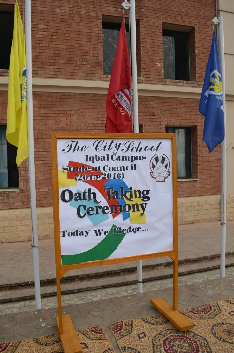 Oath-taking Ceremony - The City School Pakistan
