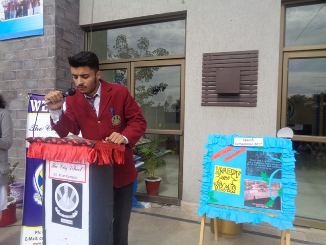 Speech Competition - The City School Pakistan